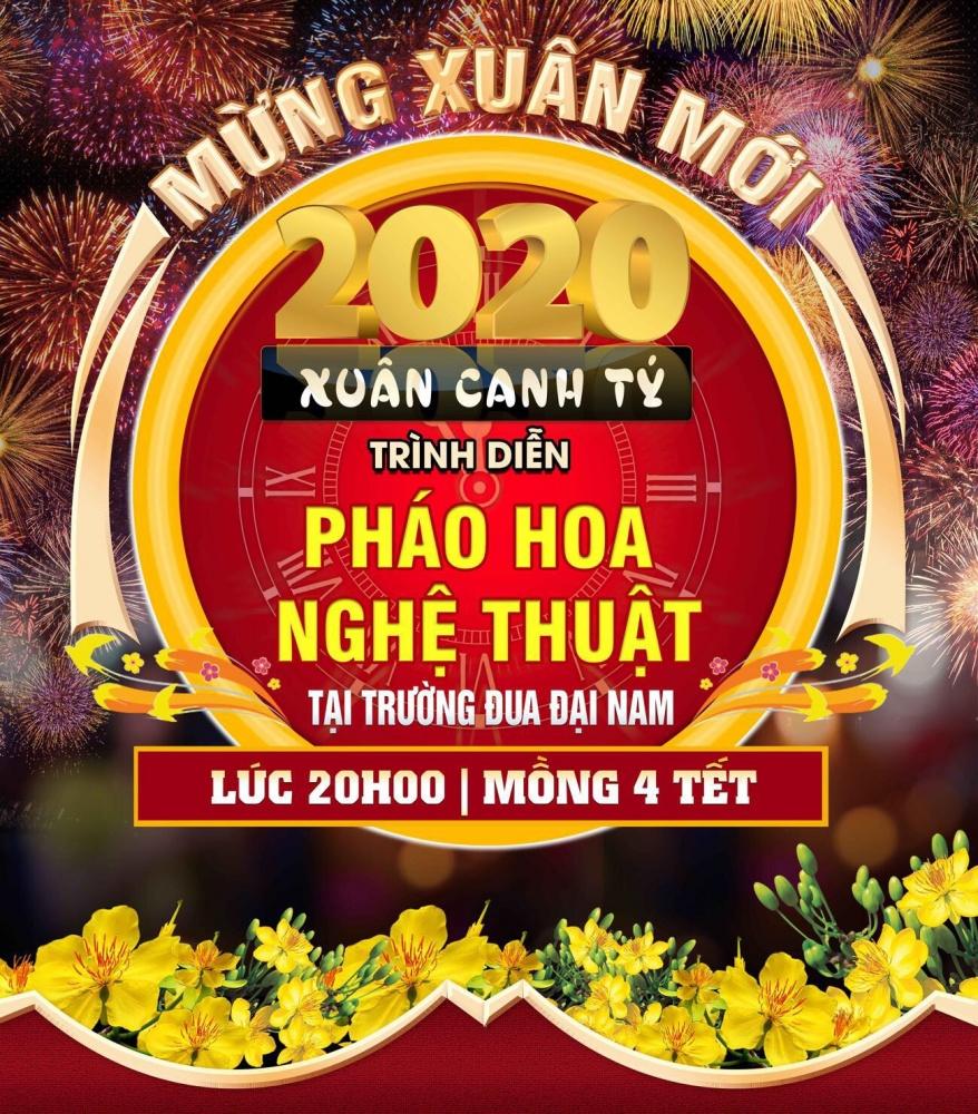 Dai Nam Ban Phao Bong Tet Canh Ty