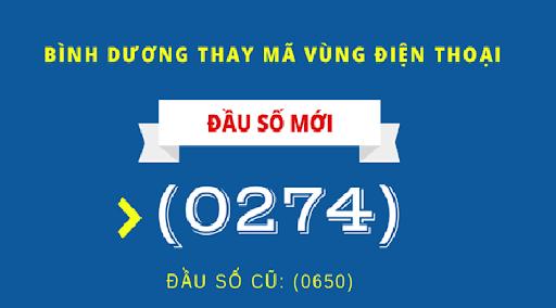 Ma Vung Dien Thoai Binh Duong