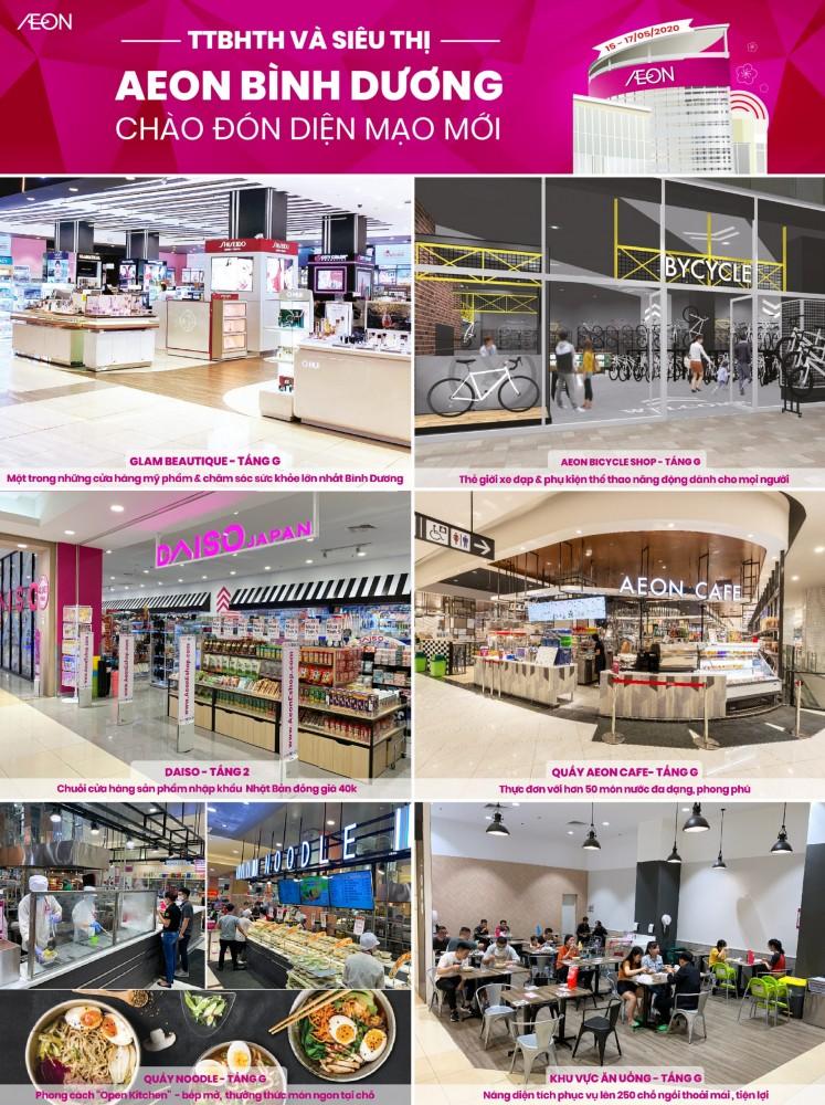 Aeon Mall Binh Duong Canary