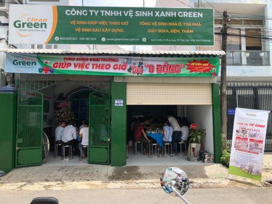 Green Clean Dich Vu Ve Sinh Tai Binh Duong