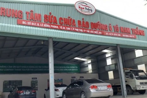 Garage O To Nam Thang