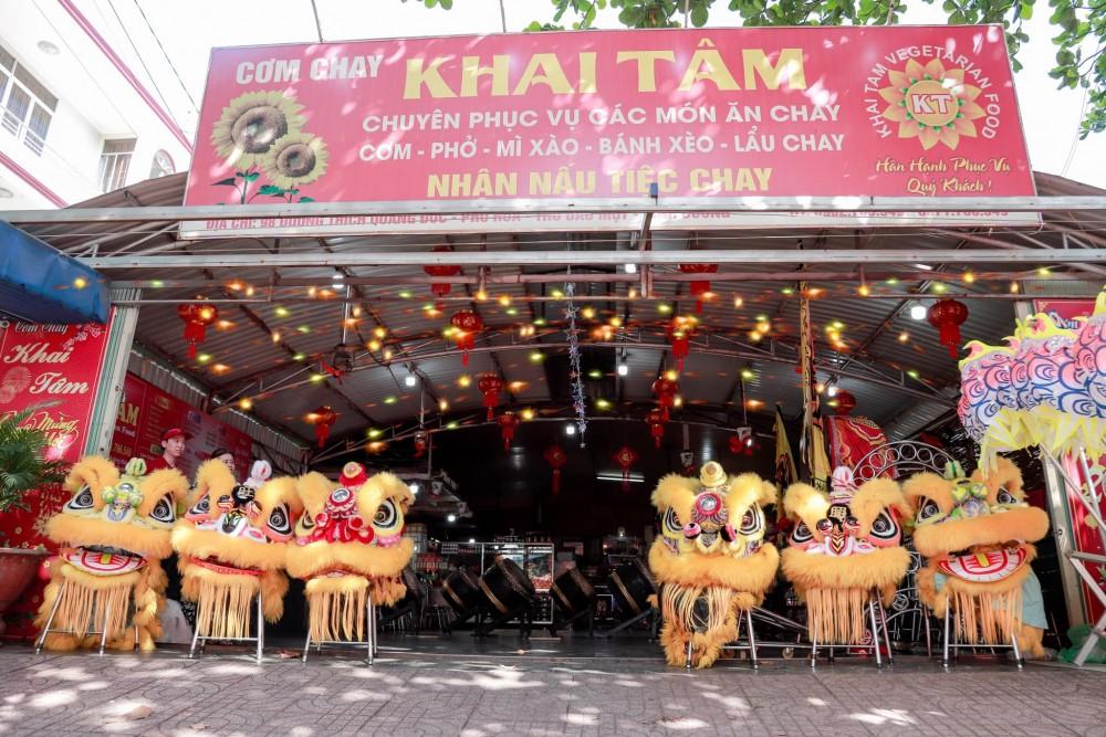 Quan Com Chay Khai Tam