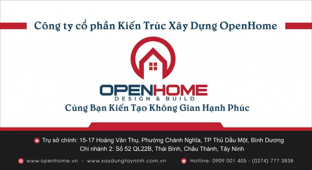 Cong Ty Co Phan Kien Truc Xay Dung Open Home