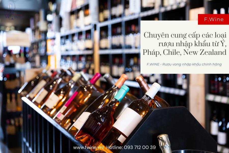 F.Wine – Rượu vang nhập khẩu tại Bình Dương