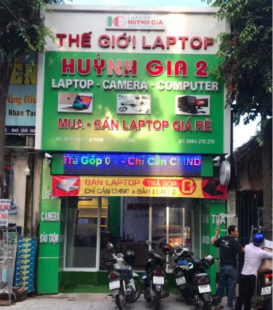 Laptop Huynh Gia
